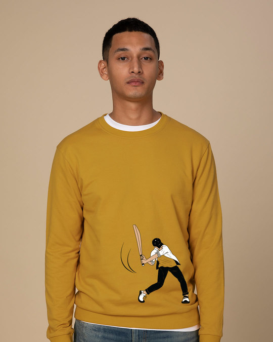 Shop Gully Cricket Sweatshirt-Front