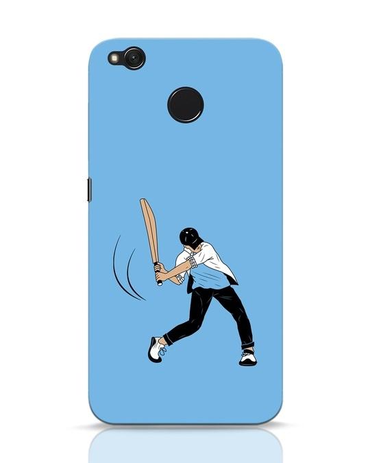 Shop Gully Cricket Xiaomi Redmi 4 Mobile Cover-Front