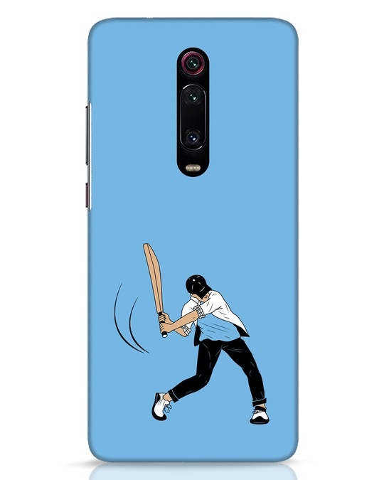 Shop Gully Cricket Xiaomi Redmi K20 Mobile Cover-Front