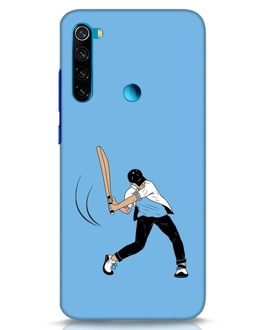 Shop Gully Cricket Xiaomi Redmi Note 8 Mobile Cover-Front