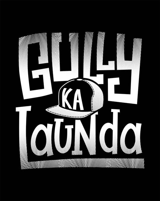 Shop Gully Ka Launda Half Sleeve T-Shirt