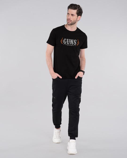 Shop Gun men Half Sleeve T-Shirt-Design