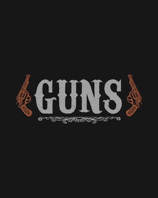 Shop Gun men Half Sleeve T-Shirt-Full