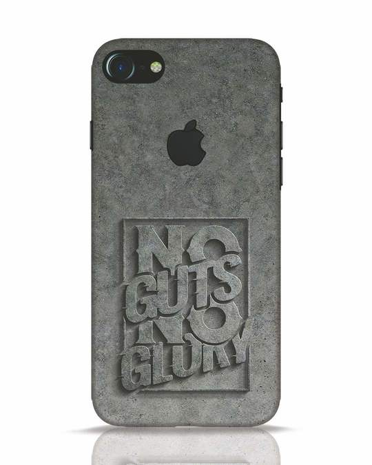Shop Guts Or Glory iPhone 7 Logo Cut Mobile Cover-Front
