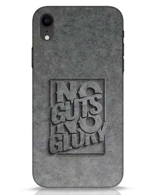 Shop Guts Or Glory iPhone XR Mobile Cover-Front