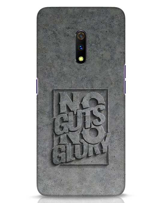 Shop Guts Or Glory Realme X Mobile Cover-Front