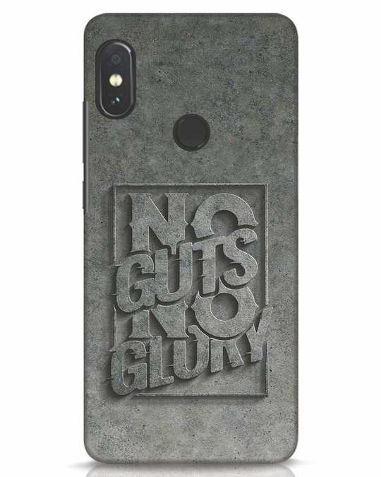 Shop Guts Or Glory Xiaomi Redmi Note 5 Pro Mobile Cover-Front