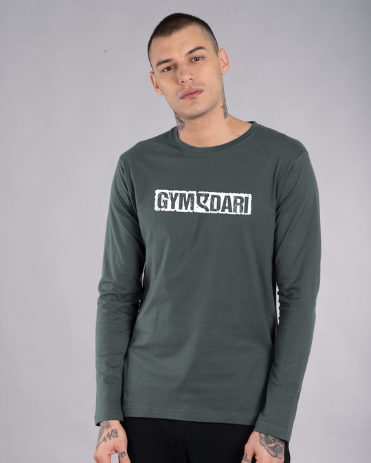 Shop Gym-a-dari Full Sleeve T-Shirt-Front