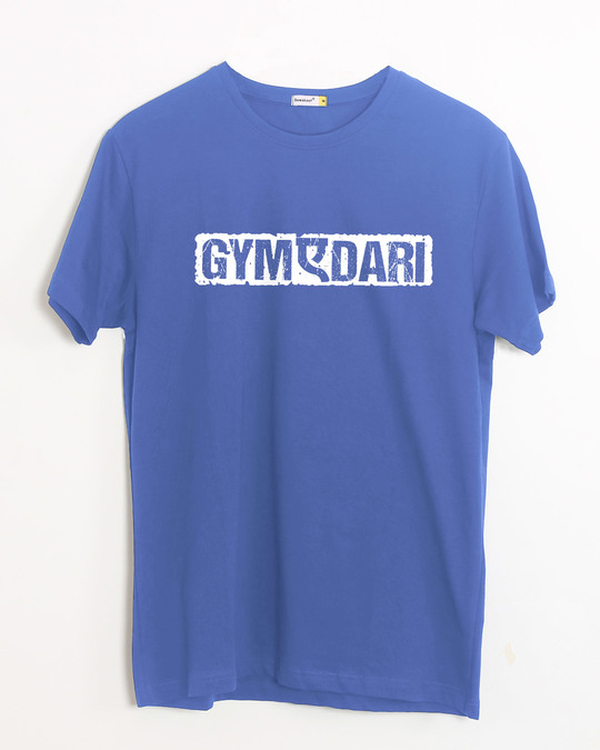Shop Gym-a-dari Half Sleeve T-Shirt-Front