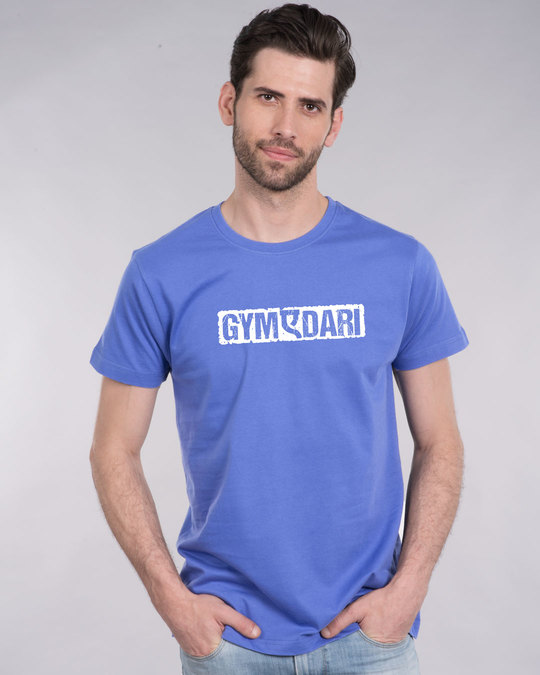 Shop Gym-a-dari Half Sleeve T-Shirt-Back