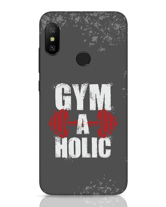 Shop Gym A Holic Xiaomi Redmi 6 Pro Mobile Cover-Front
