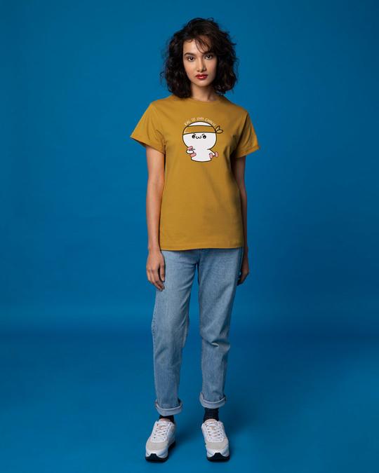 Shop Gym Chalu Boyfriend T-Shirt-Full