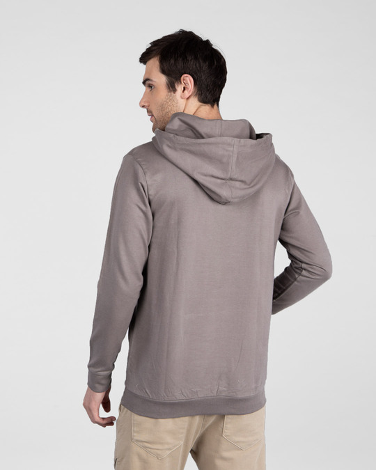 Shop Gym Karo Fleece Hoodie-Back