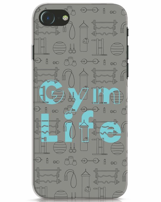Shop Gymlife iPhone 7 Mobile Cover-Front