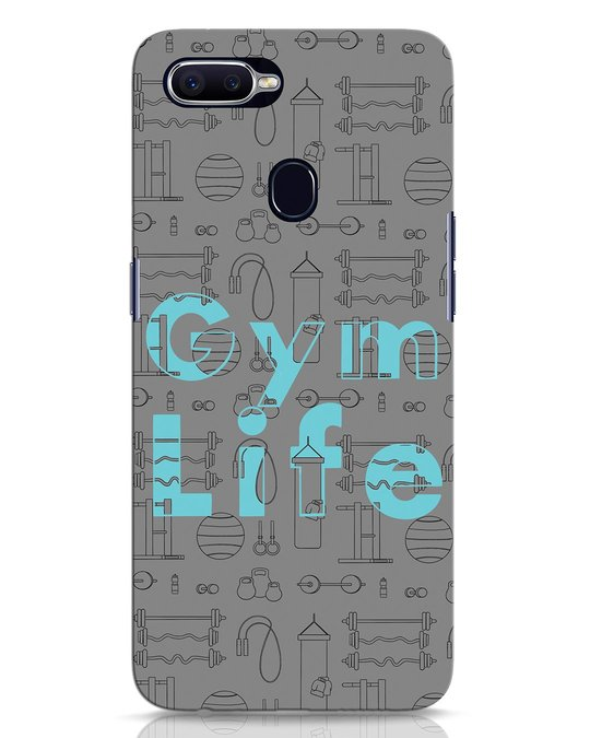 Shop Gymlife Oppo F9 Pro Mobile Cover-Front