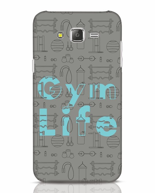 Shop Gymlife Samsung Galaxy J7 Mobile Cover-Front