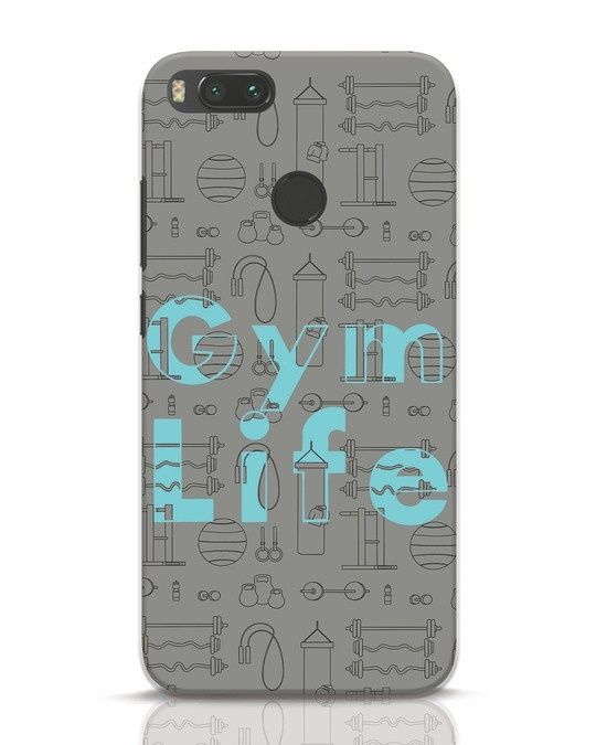 Shop Gymlife Xiaomi Mi A1 Mobile Cover-Front