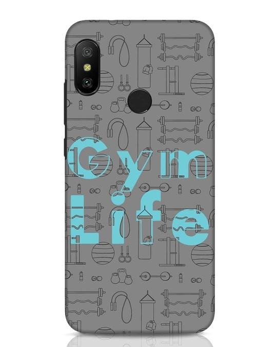Shop Gymlife Xiaomi Redmi Note 6 Pro Mobile Cover-Front
