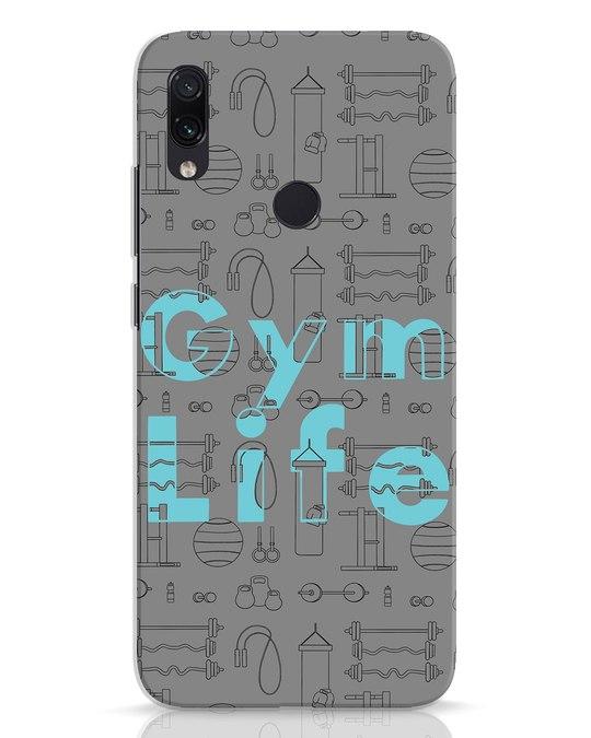Shop Gymlife Xiaomi Redmi Note 7 Mobile Cover-Front