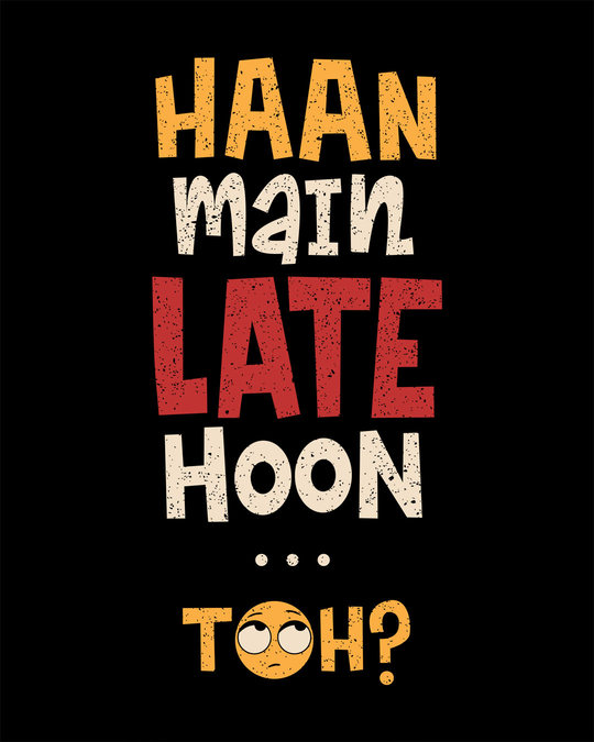 Shop Haan Main Late Hoon Boyfriend T-Shirt