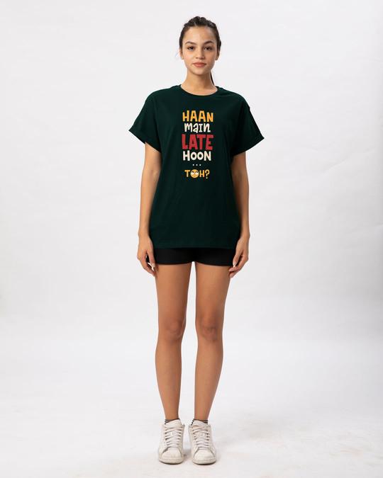 Shop Haan Main Late Hoon Boyfriend T-Shirt
