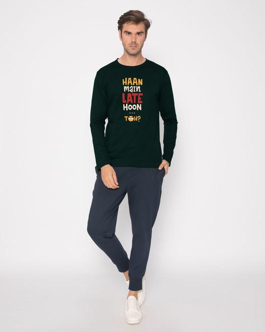 Shop Haan Main Late Hoon Full Sleeve T-Shirt