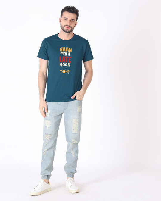 Shop Haan Main Late Hoon Half Sleeve T-Shirt