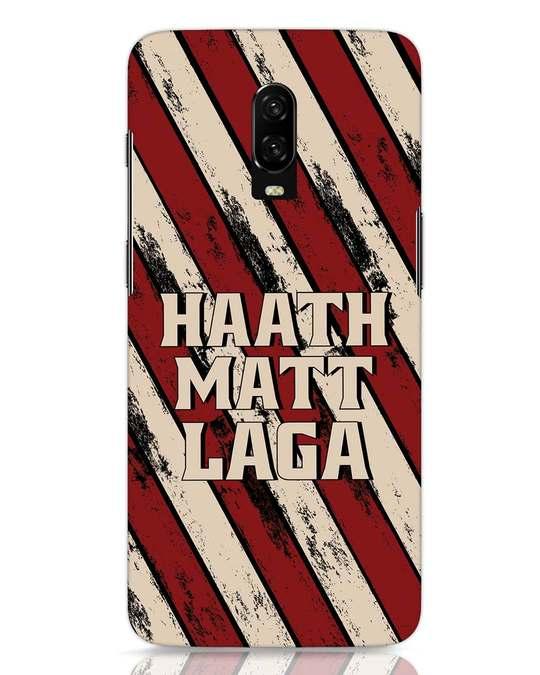 Shop Haath Matt Laga OnePlus 6T Mobile Cover-Front
