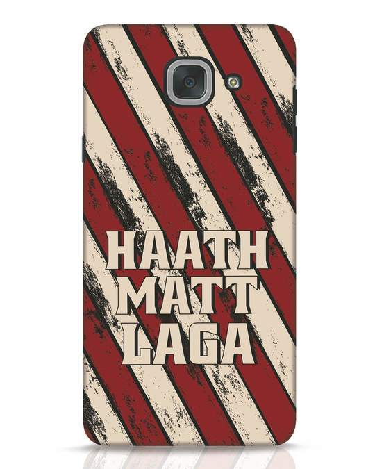 Shop Haath Matt Laga Samsung Galaxy J7 Max Mobile Cover-Front