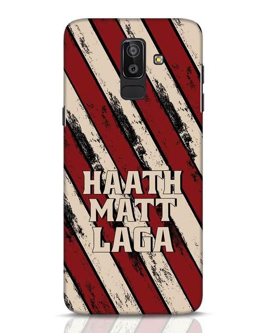 Shop Haath Matt Laga Samsung Galaxy J8 Mobile Cover-Front