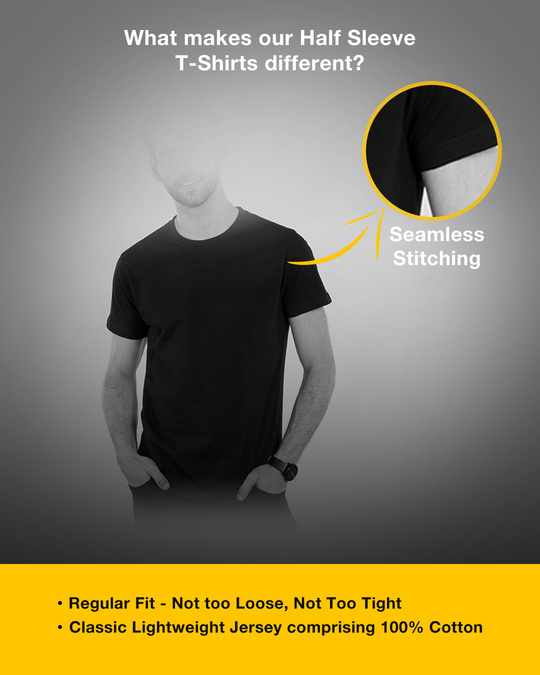 Shop Stop Thinking Half Sleeve T-Shirt-Design