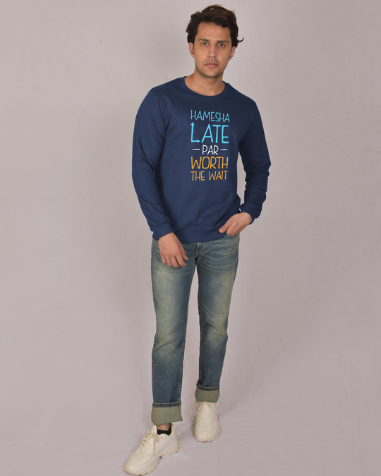 Shop Hamesha Late Fleece Sweater-Design
