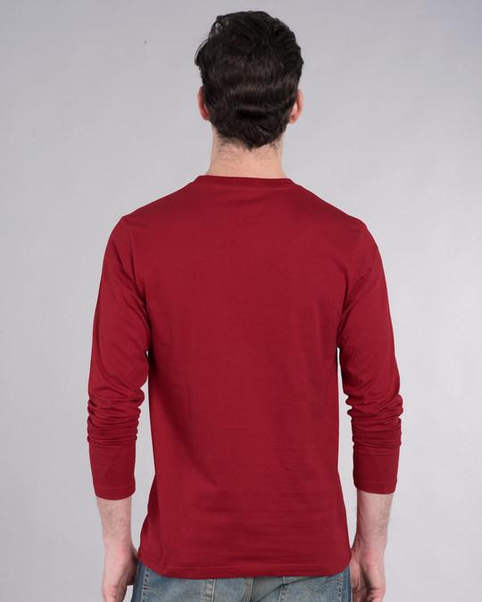 Shop Hamesha Late Full Sleeve T-Shirt-Back