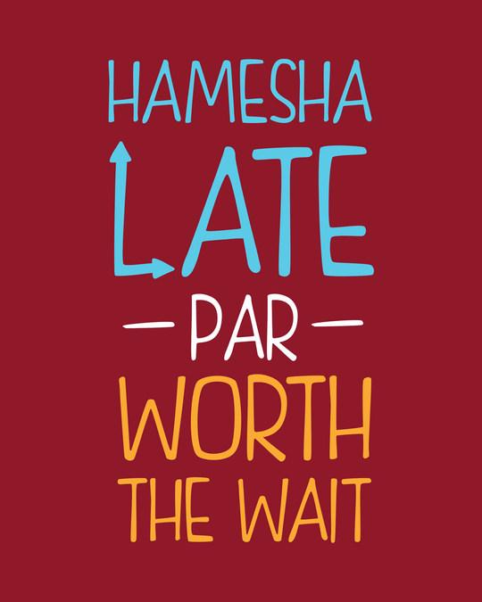 Shop Hamesha Late Full Sleeve T-Shirt