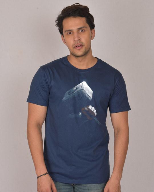 Shop Hammer Of Thor Half Sleeve T-Shirt (AVL)-Front