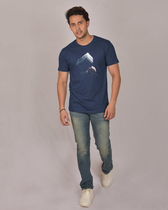 Shop Hammer Of Thor Half Sleeve T-Shirt (AVL)-Design