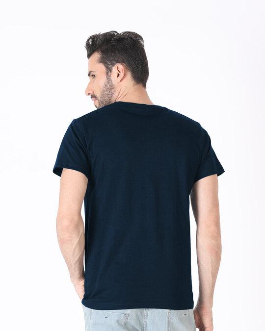 Shop Han Main Late Hoon, Toh? Half T Shirt-Back