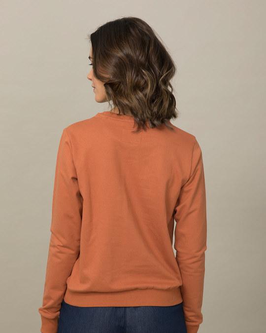 Shop Hangry Bird Fleece Sweater-Back