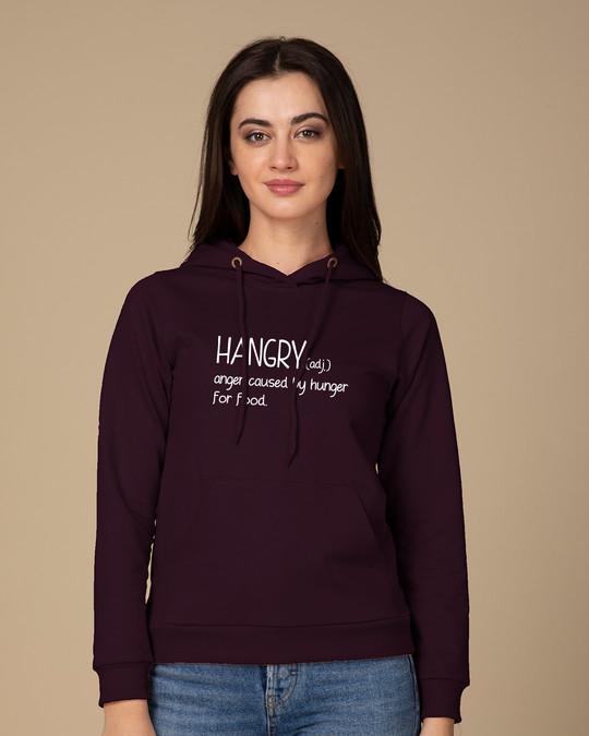 Shop Hangry Fleece Hoodies-Front