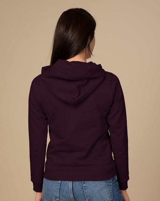 Shop Hangry Fleece Hoodies-Back