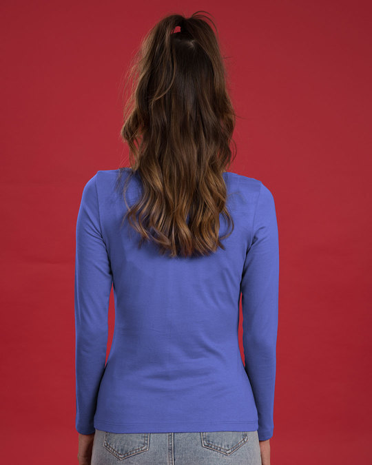Shop Hangry Scoop Neck Full Sleeve T-Shirt-Design