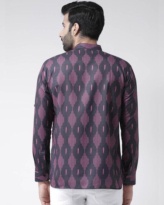 Shop Mens Printed Kurta-Design