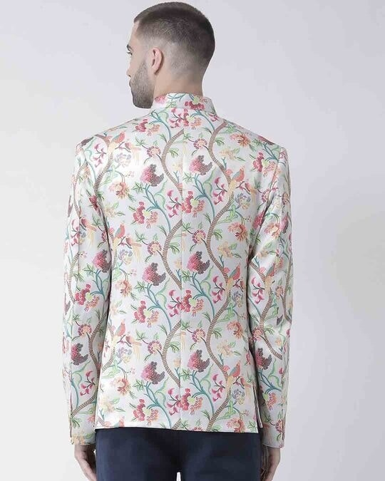 Shop Printed Casual Blazer-Design