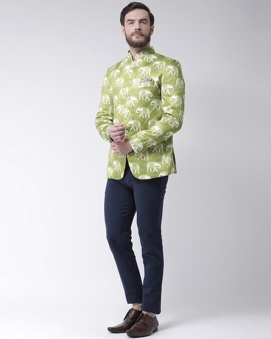 Shop Printed Casual Blazer-Full