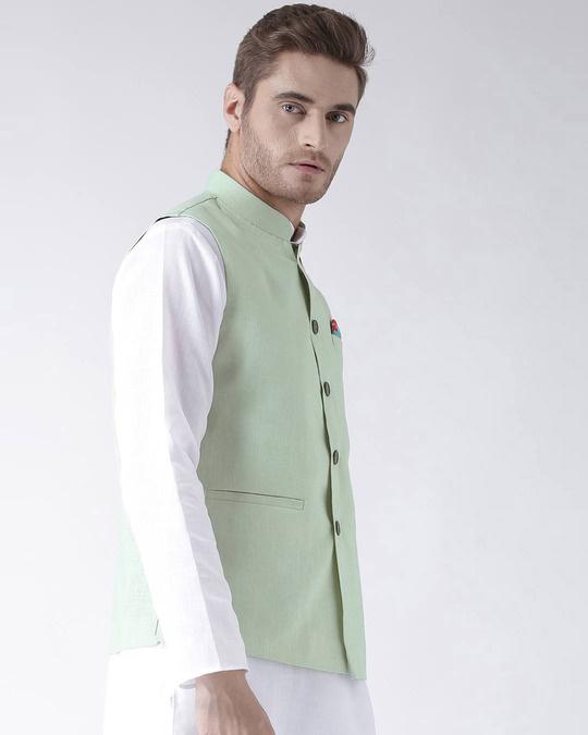 Shop Solid Casual Nehru Jacket-Design