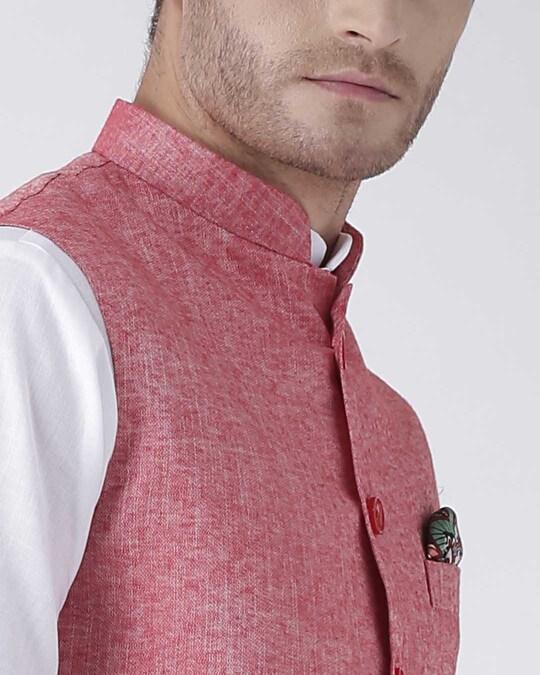 Shop Solid Casual Nehru Jacket
