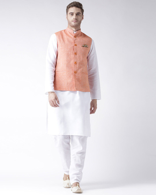 Shop Solid Casual Nehru Jacket