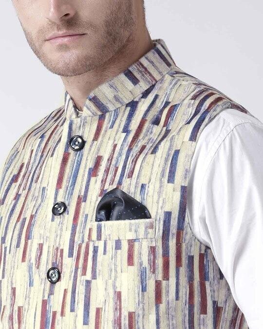 Shop Printed Casual Nehru Jacket