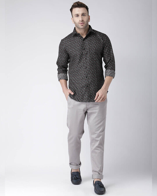 Shop Printed Casual Daily Wear Shirt-Full