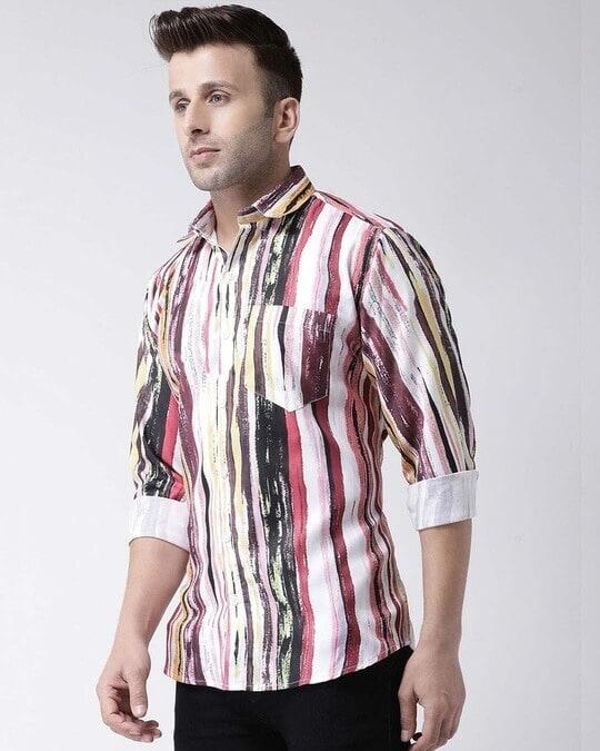 Shop Printed Casual Daily Wear Shirt-Back